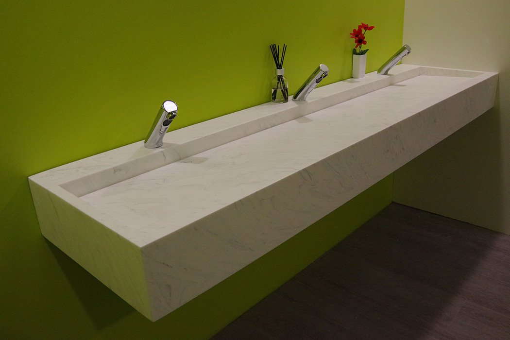 Solid Surface Wash Trough - Willis Systems