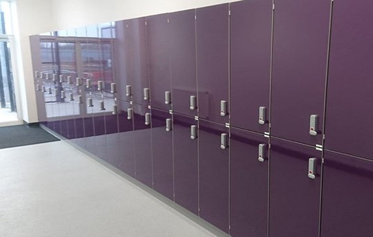 Heavy Duty Laminate Lockers