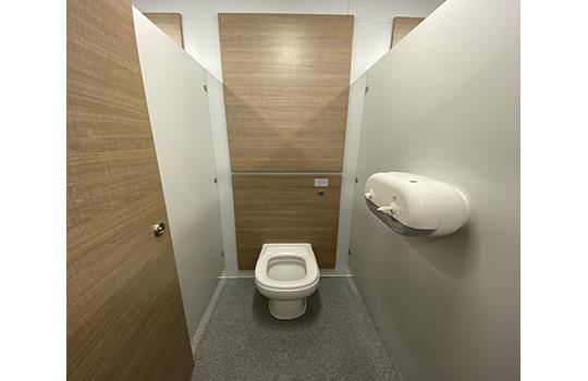 Retail Toilet Cubicles