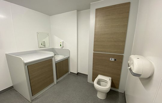 Retail Washrooms and Toilet Cubicles