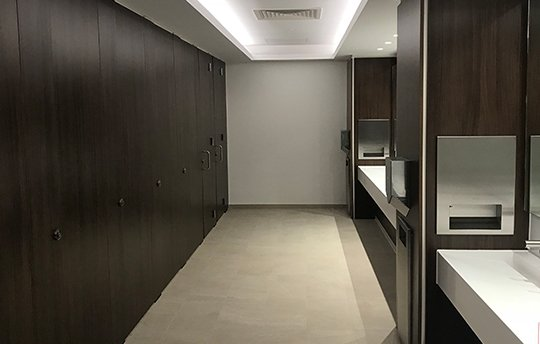 Commercial Washroom Manufacturer