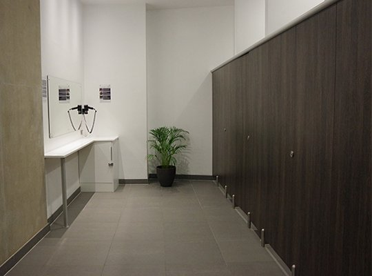 Toilet Shower and Changing Cubicles