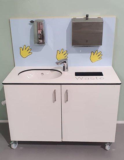 School Mobile Wash Station
