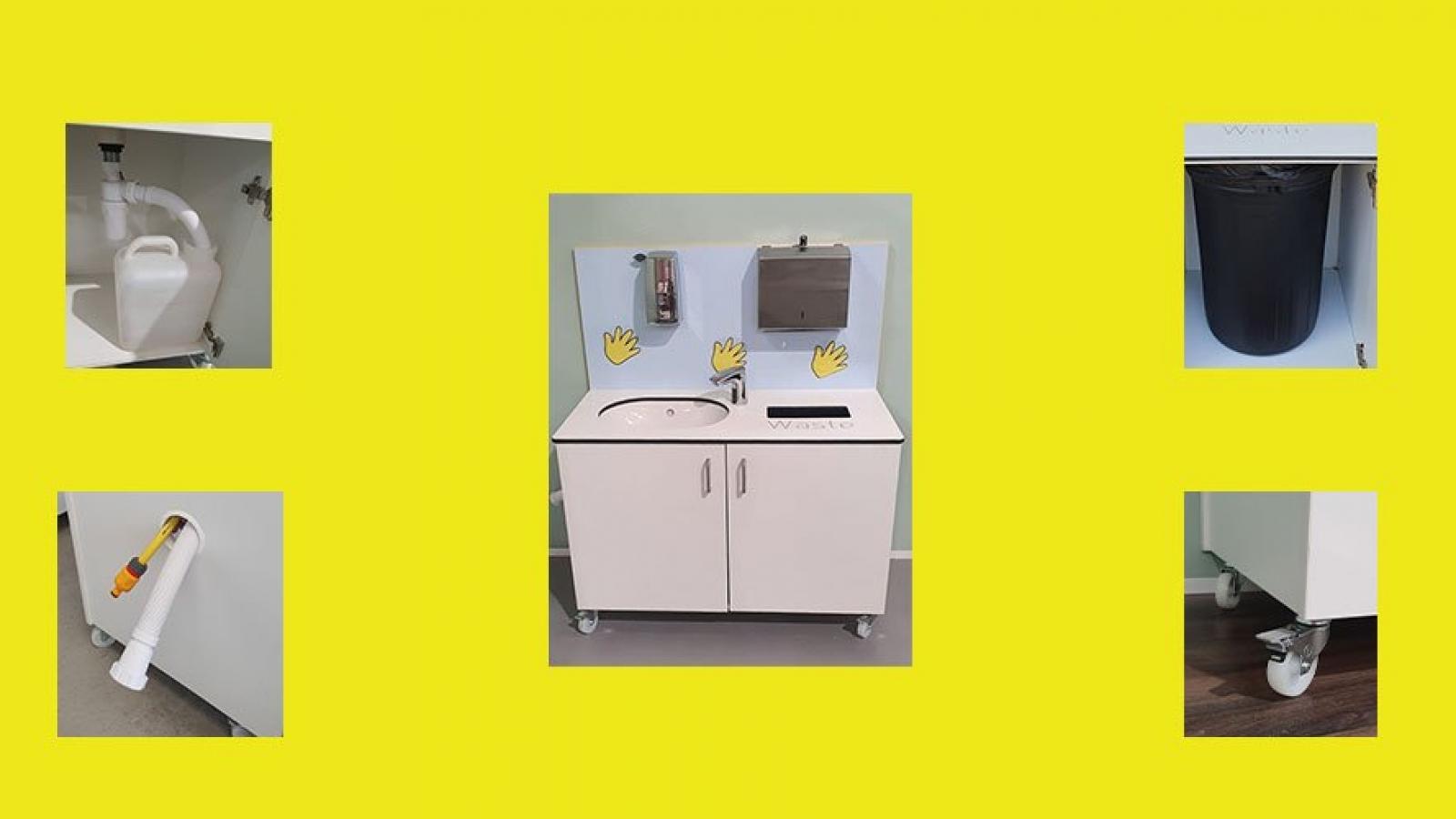 School Mobile Hygiene Hand Wash Station